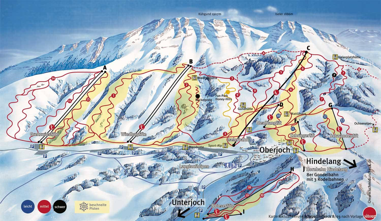 how to say ski in german